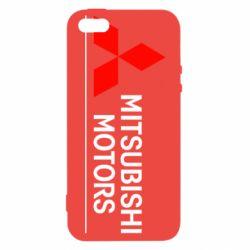 Чехол для iPhone 5S Mitsubishi Motors лого