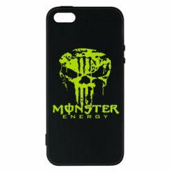 Чохол для iPhone 5S Monster Energy Череп