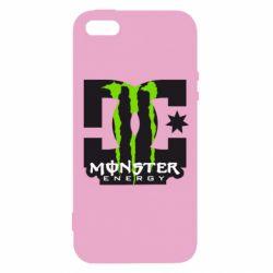 Чехол для iPhone 5S Monster Energy DC