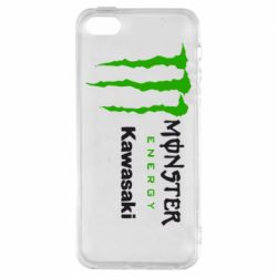Чохол для iPhone 5S Monster Energy Kawasaki