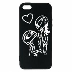 Чехол для iPhone 5S MOTO LOVE