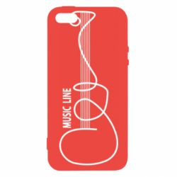 Чохол для iPhone 5S MUSIC LINE