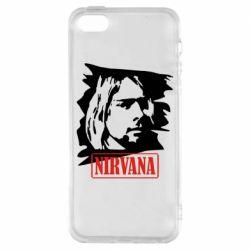 Чехол для iPhone 5S Nirvana Kurt Cobian