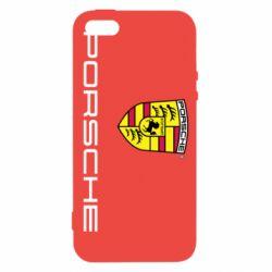 Чехол для iPhone 5S Porsche