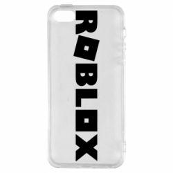 Чохол для iPhone 5S Roblox inscription