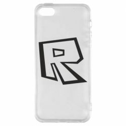 Чохол для iPhone 5S Roblox minimal logo
