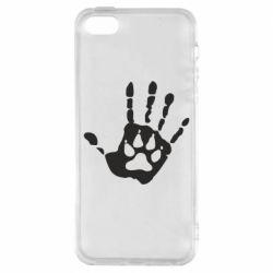 Чохол для iPhone 5S Рука вовка