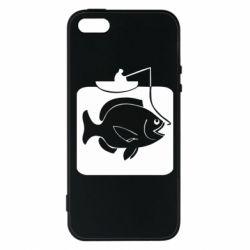 Чохол для iPhone 5S Риба на гачку