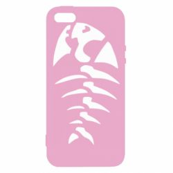 Чохол для iPhone 5S скелет рибки