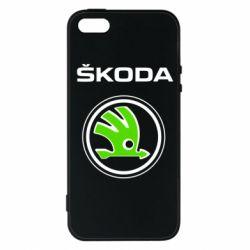 Чехол для iPhone 5S Skoda Bird