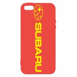 Чехол для iPhone 5S Subaru logo