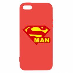 Чехол для iPhone 5S Super Man
