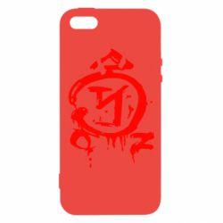 Чехол для iPhone 5S Сверхъестественное логотип