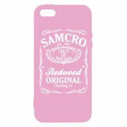 Чохол для iPhone 5S Сини Анархії Samcro