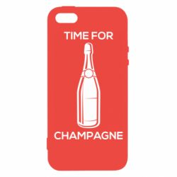 Чохол для iPhone 5S Time for champagne