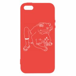 Чохол для iPhone 5S Toad with human hands