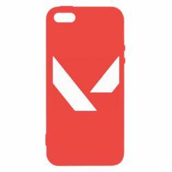 Чохол для iPhone 5S Valorant sign