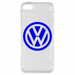 Чехол для iPhone 5S Volkswagen Logo