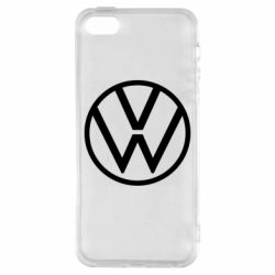 Чохол для iPhone 5S Volkswagen new logo