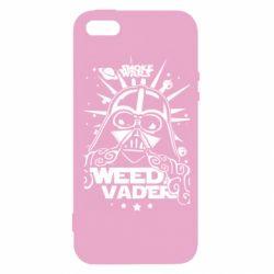 Чехол для iPhone 5S Weed Vader