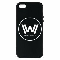 Чохол для iPhone 5S Wild West World logo