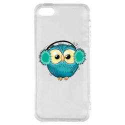 Чохол для iPhone 5S Winter owl