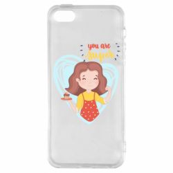 Чохол для iPhone 5S You are super girl