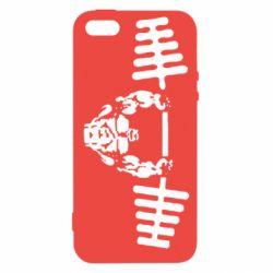 Чехол для iPhone 5S Жим штанги
