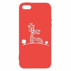 Чохол для iPhone 5S жираф