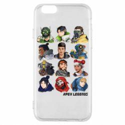 Чохол для iPhone 6/6S Apex legends heroes