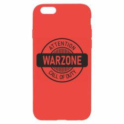 Чехол для iPhone 6/6S Attention Warzone
