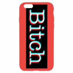 Чехол для iPhone 6/6S Bitch glitch