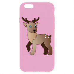 Чехол для iPhone 6/6S Cartoon deer