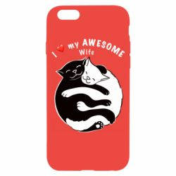 Чехол для iPhone 6/6S Cats with a smile