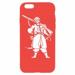 Чехол для iPhone 6/6S Cossack with a gun