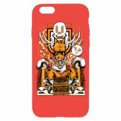 Чехол для iPhone 6/6S Deer On The Throne