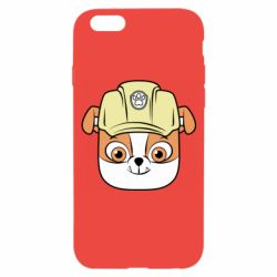 Чохол для iPhone 6 Dog in helmet