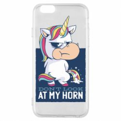 Чохол для iPhone 6 Don't look at my horn