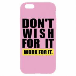 Чохол для iPhone 6 Dont wish