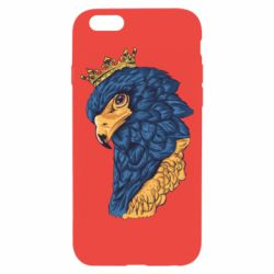 Чехол для iPhone 6/6S Eagle with a crown on its head