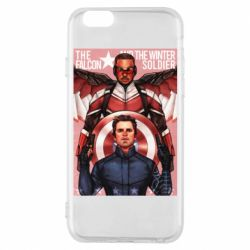 Чохол для iPhone 6/6S Falcon and the Winter Soldier Art