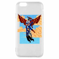 Чохол для iPhone 6/6S Falcon holds Bucky