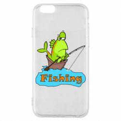 Чехол для iPhone 6/6S Fish Fishing
