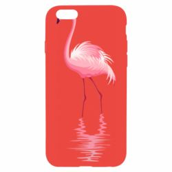 Чохол для iPhone 6 Фламинго
