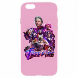 Чехол для iPhone 6/6S Garena free avengers