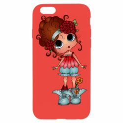 Чехол для iPhone 6/6S Girl with big eyes