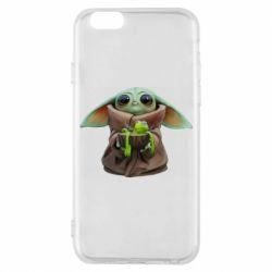 Чохол для iPhone 6/6S Grogu and Kermit