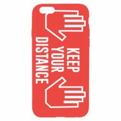 Чохол для iPhone 6 Keep your distance