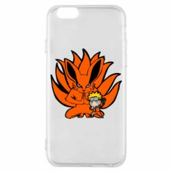 Чохол для iPhone 6/6S Kurama And Naruto