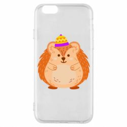 Чохол для iPhone 6/6S Little hedgehog in a hat